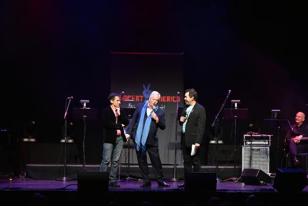 Seth Rudetsky, Armistead Maupin and James Wesley Photo