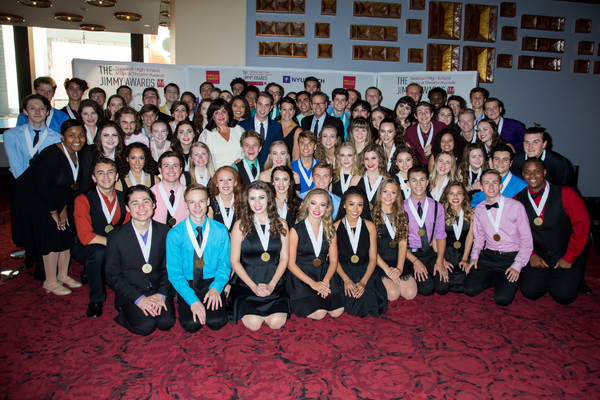 The 2017 Jimmy Awards Nominees with Charlotte St. Martin, Ben Platt, Kiesha Lalama, and Van Kaplan