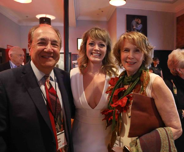 Bruce Evenchik, Elizabeth Stanley, Reba Evenchik