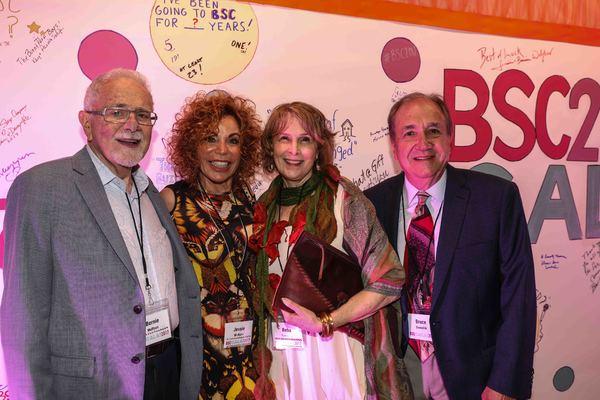 Bernie Wolfson, Jessie Wolfson, Reba Evenchik, Dr. Bruce Evanchik