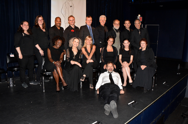 David Stallyer (Director) and Kristy Boday and Courteney Leggett (Stage Managers) join with tonight's cast--Darius de Haas, Stephen T. Shore, Bradford Cover, Tony Sheldon, Robert Zukerman, Richard Gallagher, Thom Sesma, Daphne Gaines, Mary Beth Peil, Kell