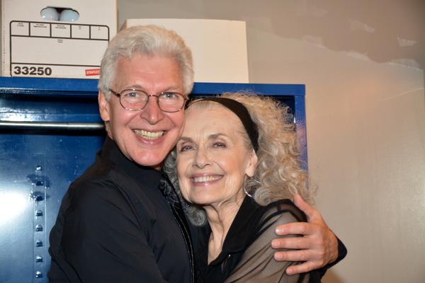 Tony Sheldon and Mary Beth Peil Photo