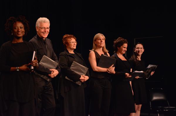 Daphne Gaines, Tony Sheldon, Cynthia Darlow, Kelly McAndrew, Rachel Botchan and Kimberly Immanuel