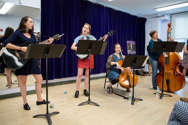 Lauren Patten, Ruby Wolf, Ephie Aardema, Lizzie Hagstedt  Photo