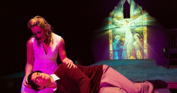 Sarah Naughton and Nicholas Carriere  Photo