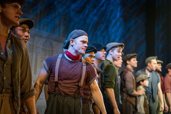 Photo Flash: Fulton Theatre Seizes the Day with Disney's NEWSIES
