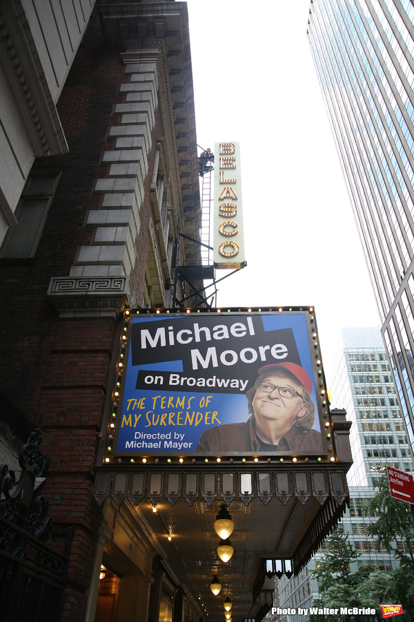 Up on the Marquee: Michael Moore's THE TERMS OF MY SURRENDER