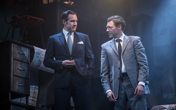 Bertie Carvel and Richard Coyle