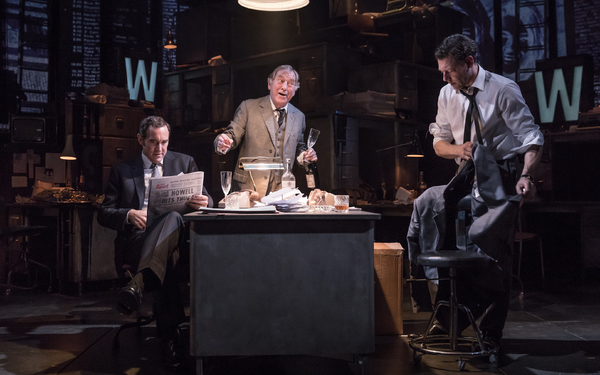 Bertie Carvel, Geoffrey Freshwater, and Richard Coyle