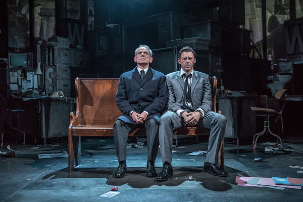 David Schofield and Richard Coyle