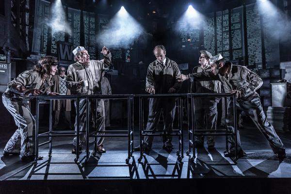 Photo Flash: INK Opens at Almeida Theatre