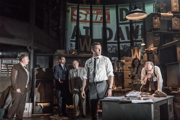 Tony Turner, Bertie Carvel, Geoffrey Freshwater, Richard Coyle, Jack Holden, and Tim Steed