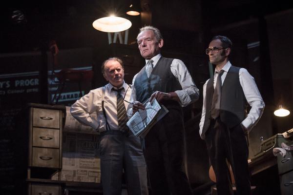 Tony Turner, David Schofield, and Rene Zagger
