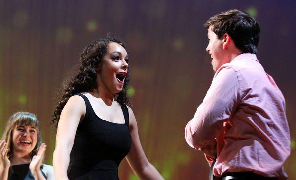 Sofia Deler and Tony Moreno Photo
