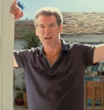 Pierce Brosnan Eager to Show Off Vocal Chops Again in MAMMA MIA Sequel