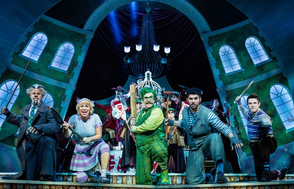 Photo Flash: First Look at Rufus Hound, Simon Lipkin, Craig Mather, Neil McDermott and More in THE WIND IN THE WILLOWS in the West End