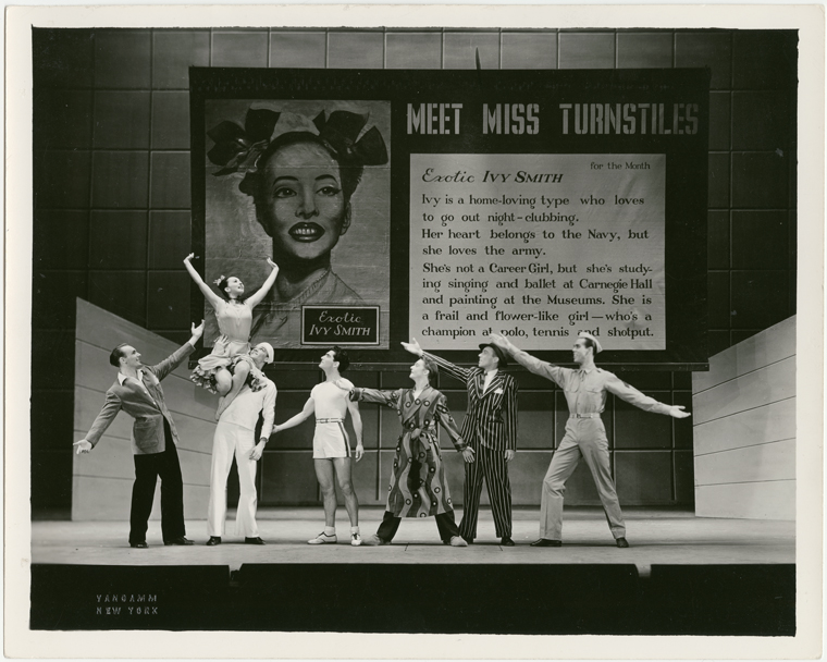 NY Public Library's Dance Collections Manager Arlene Yu on Sono Osato and the Arrival of the Ballet Girl on Broadway!