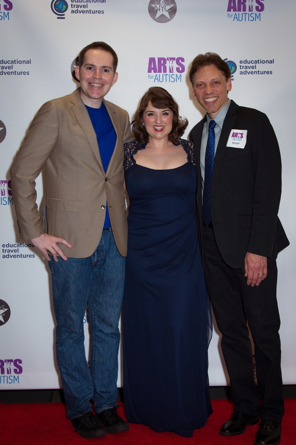 Kerry Magro, Jacque Carnahan, and Michael Holzer Photo