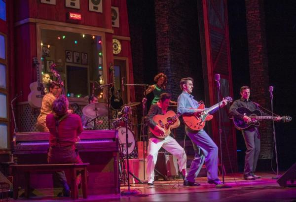 BWW Review: Lyric Theatre's MILLION DOLLAR QUARTET Is A Rock-n-Roll Hit You Can Bank On