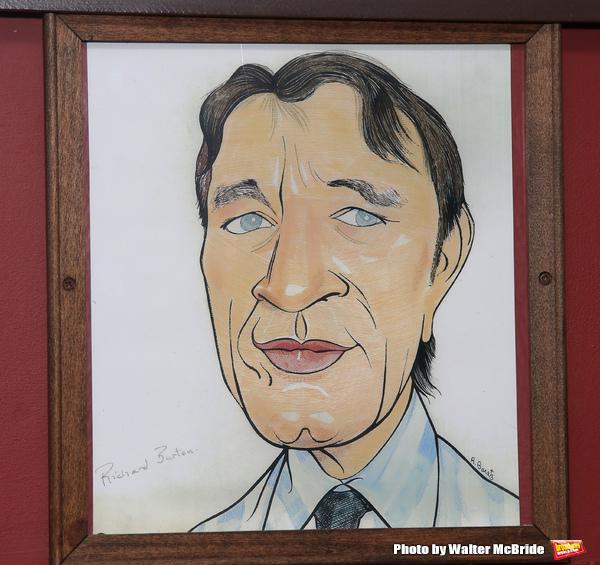 Richard Burton caricature