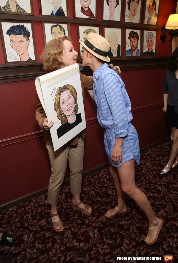 Kate Burton and Cobie Smulders