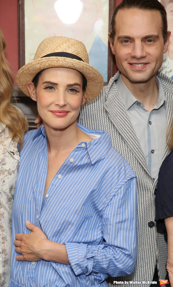 Cobie Smulders and Jordan Roth Photo