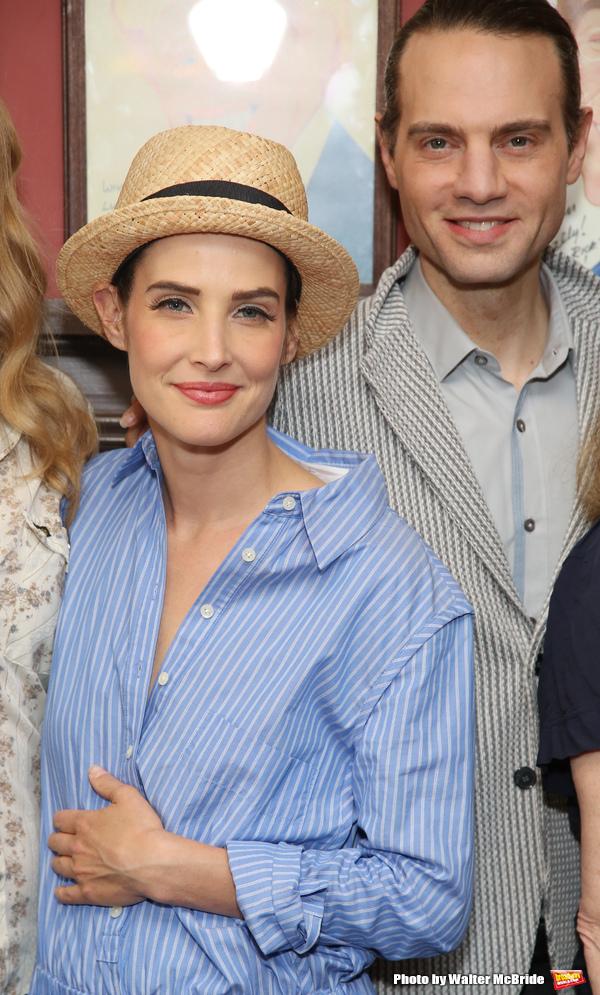 Cobie Smulders and Jordan Roth