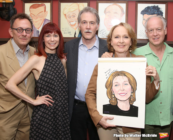 Michael Emerson, Carroie Preston, Boyd Gaines, Kate Burton and Reed Birney