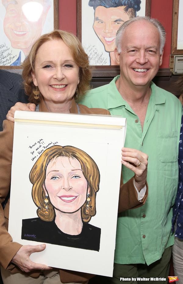 Kate Burton and Reed Birney