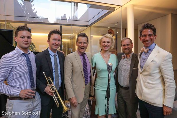 Tom Postilio, Mickey Conlon & Fleur Seule Photo