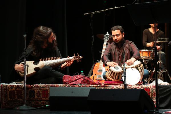 Musicians Qais Essar & Nabeel Riaz  Photo