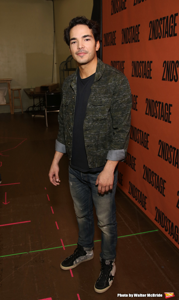 Photo Coverage: Second Stage's A PARALLELOGRAM Cast Meets the Press!