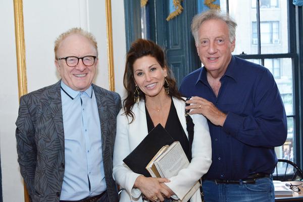 Peter Asher, Gina Gershon, Alan Zweibel Photo