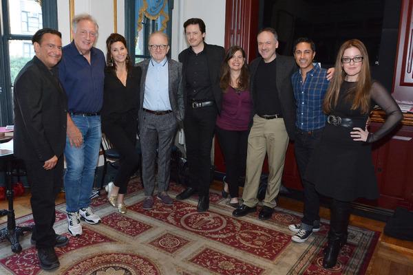 Eugene Pack, Alan Zweibel, Gina Gershon, Peter Asher, John Fugelsang, Dayle Reyfel, W Photo