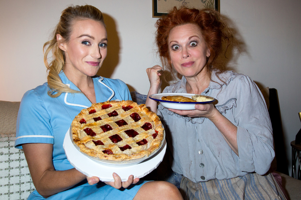 Photos: When Nellie Met Jenna... The Pie People of WAITRESS and SWEENEY TODD Unite!