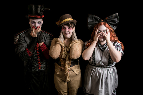 Photo Flash: Black Button Eyes Productions presents SHOCKHEADED PETER