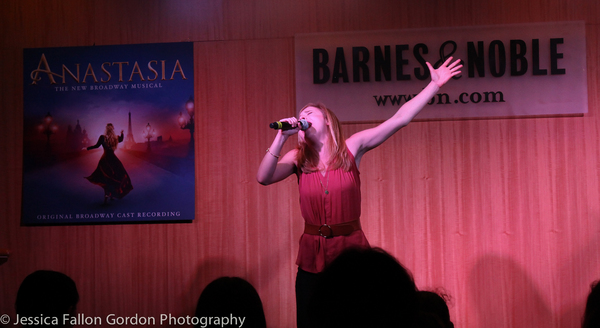 Photo Coverage: Barnes and Noble Gives a Royal Welcome to the ANASTASIA Company!