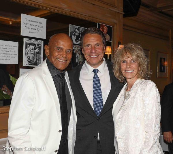 Harry Belafonte, Andrew Cuomo, Pamela Frank