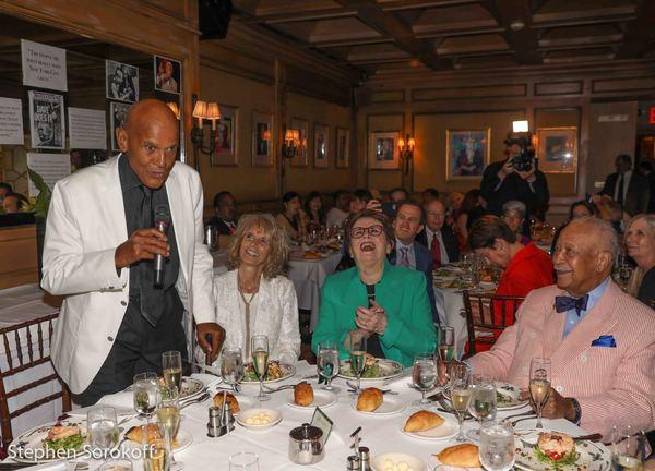 Harry Belafonte, Pamela Frank , Billie Jean King