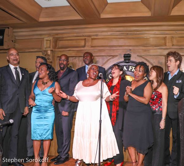 Chris Gillespie, Robert Cuccioli, Brandie Sutton, Darren K. Stokes, Lillias White, Ch Photo