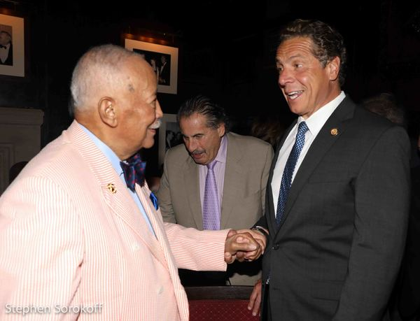 Photo Coverage: Gov. Cuomo, Harry Belafonte, and Others Join Friars In Saluting Mayor David Dinkins on His 90th