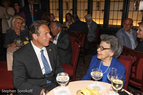 Andrew Cuomo & Joyce Dinkins