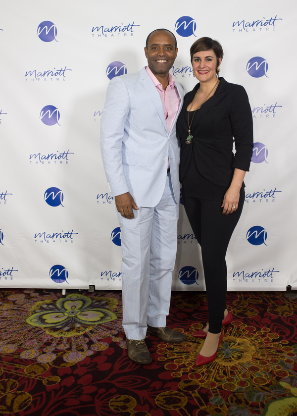 Nathaniel Stampley and Danni Smith