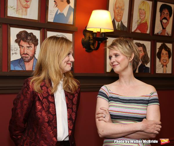 Laura Linney and Cynthia Nixon