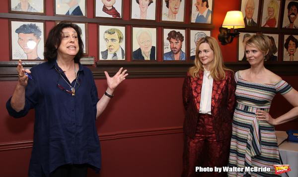 Lynne Meadow, Laura Linney and Cynthia Nixon