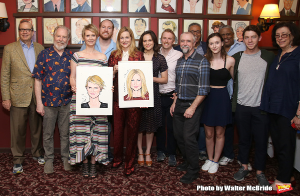 Barry Grove, Michael McKean, Cynthia Nixon, Laura Linney, Francesca Carpanini, Michael Benz, Lynne Meadow and cast