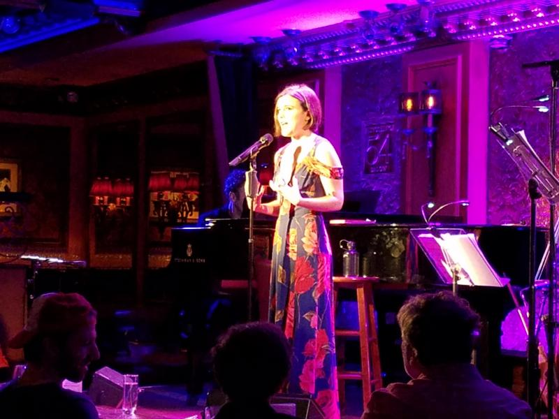 BWW Review: Alexandra Socha Bares Her Soul in Cabaret Debut at Feinstein's/54 Below