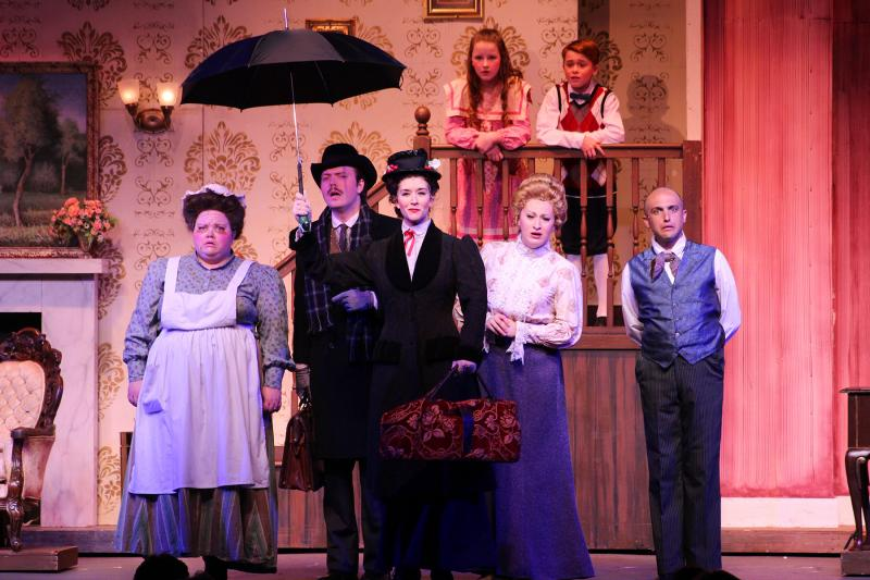BWW Review: MARY POPPINS at Broadway Palm Dinner Theatre is Supercalifragilisticexpialidocious!