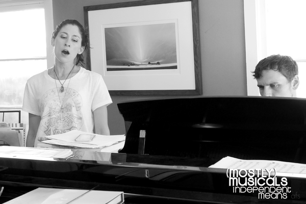 Photo Flash: In Rehearsal with (Mostly) Musicals on Independence Eve