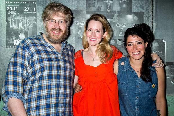 Dave Malloy, Ingrid Michaelson, Rachel Chavkin